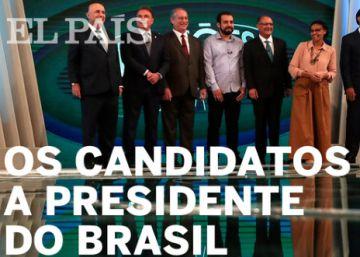 Bolsonaro, Haddad, Ciro, Alckmin e Marina Silva lideram a disputa, segundo as pesquisas de intenção de voto. Conheça um pouco sobre cada um deles