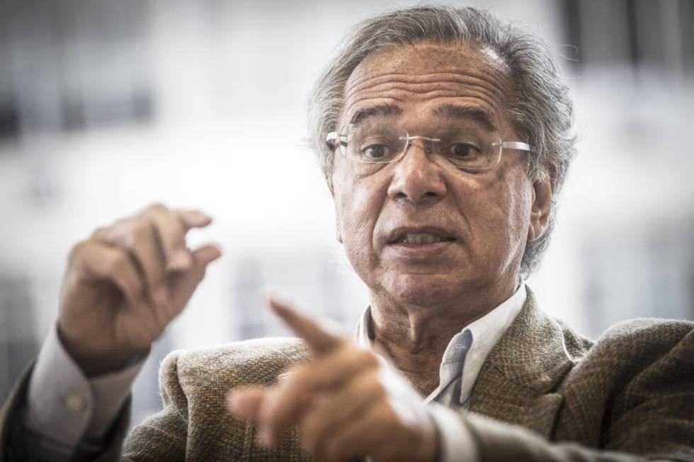 O economista Paulo Guedes.
