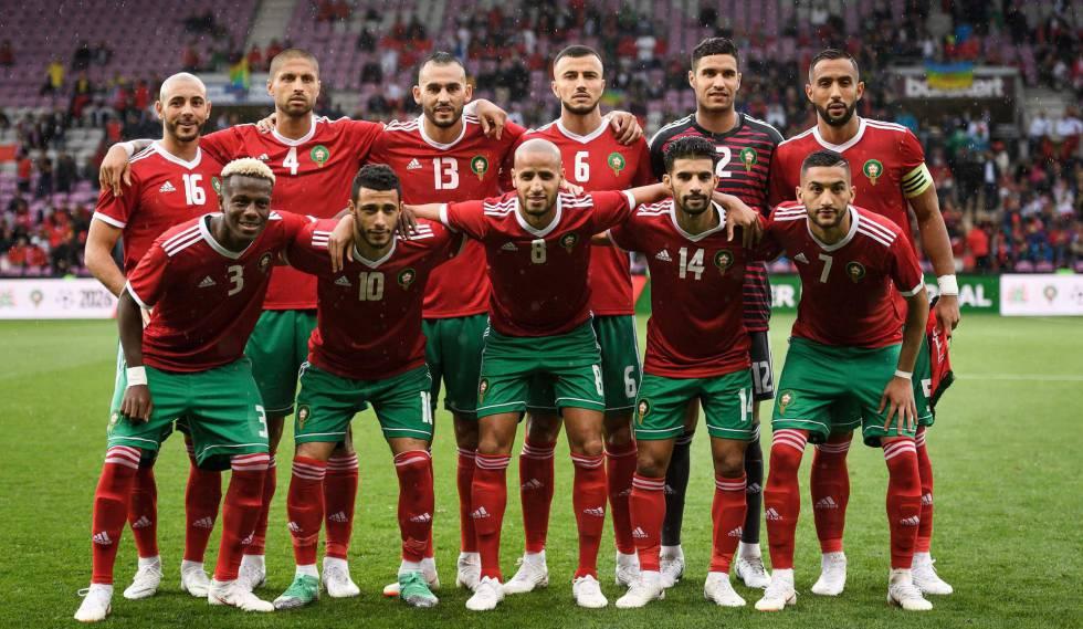 Marrocos pode surpreender favoritas Espanha e Portugal no Grupo B.