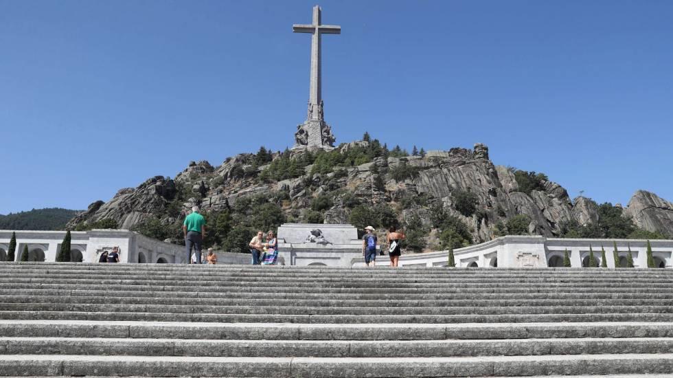 Vista geral do monumento Vale dos Caídos, de onde serão retirados os restos mortais do ditador Francisco Franco