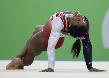 A ginasta americana conquistou seu segundo ouro na prova individual geral