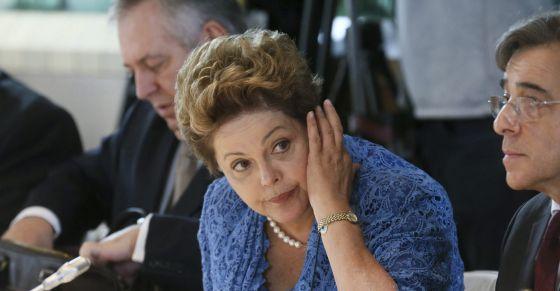 A presidenta Dilma Rousseff na Cúpula Brasil UE