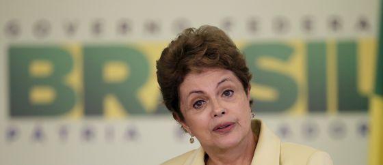 Dilma Rousseff, em Brasília, em maio de 2015.
