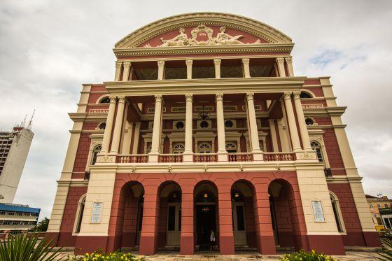 O Teatro Amazonas, em Manaus.