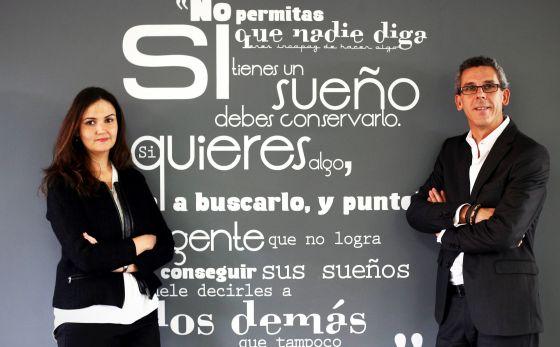 Francisco Porras e Raquel Capellas, de Weber Shandwick.