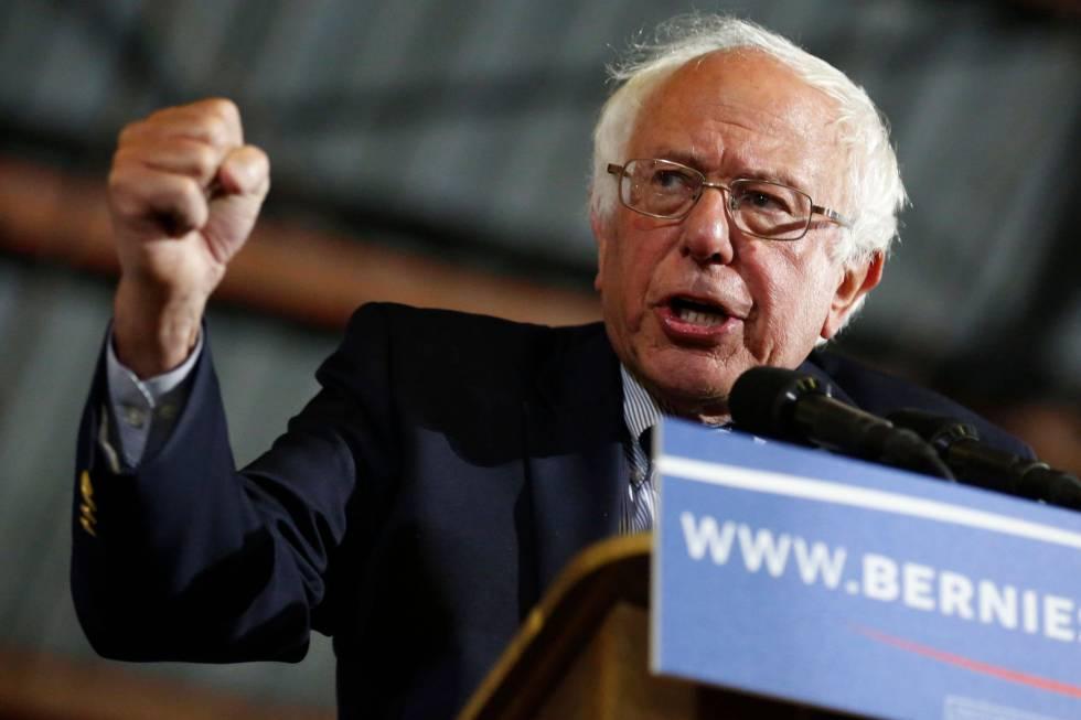 O senador Bernie Sanders.