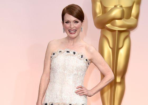 Julianne Moore, candidata ao Oscar de melhor.
