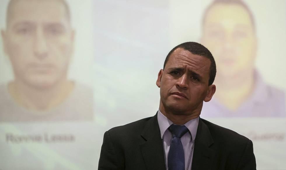 O delegado Giniton Lajes, que cuidava do caso Marielle.