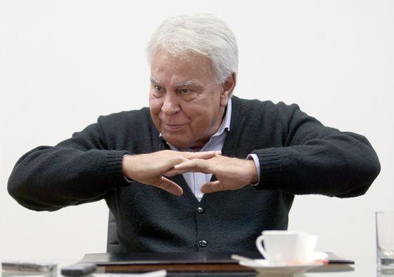 Felipe González, em março de 2015.