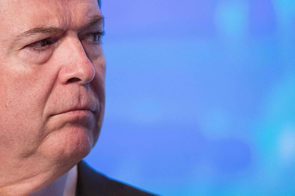 O diretor do FBI, James Comey, em setembro de 2016.