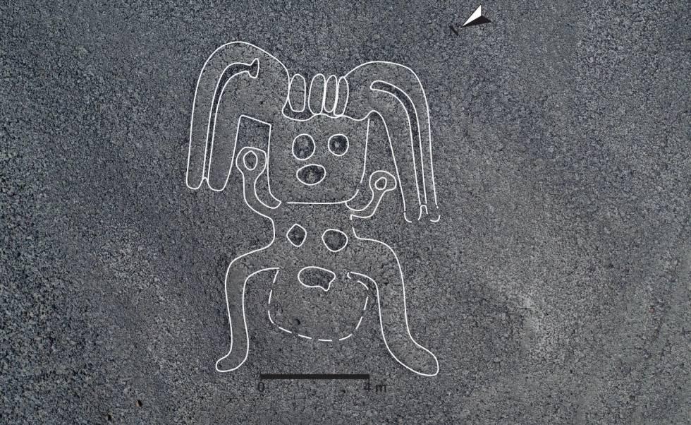 A figura de um humanoide em alta resolução.