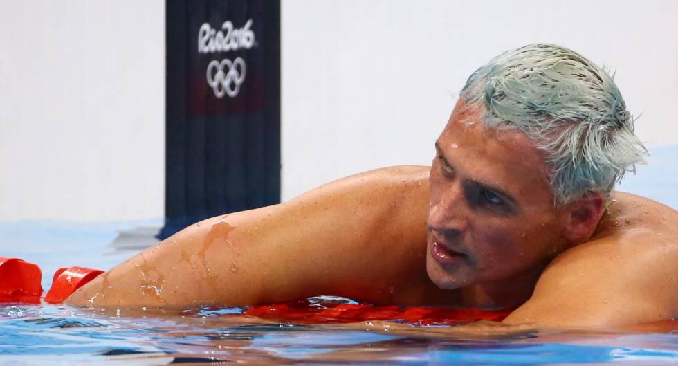 Lochte na Rio 2016.