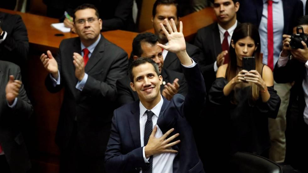 Juan Guaidó, novo presidente da Assembleia venezuelana.