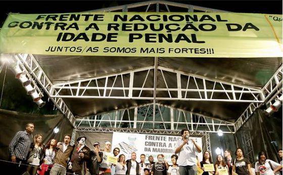 Representantes de movimentos sociais e de direitos humanos reunidos em SP.