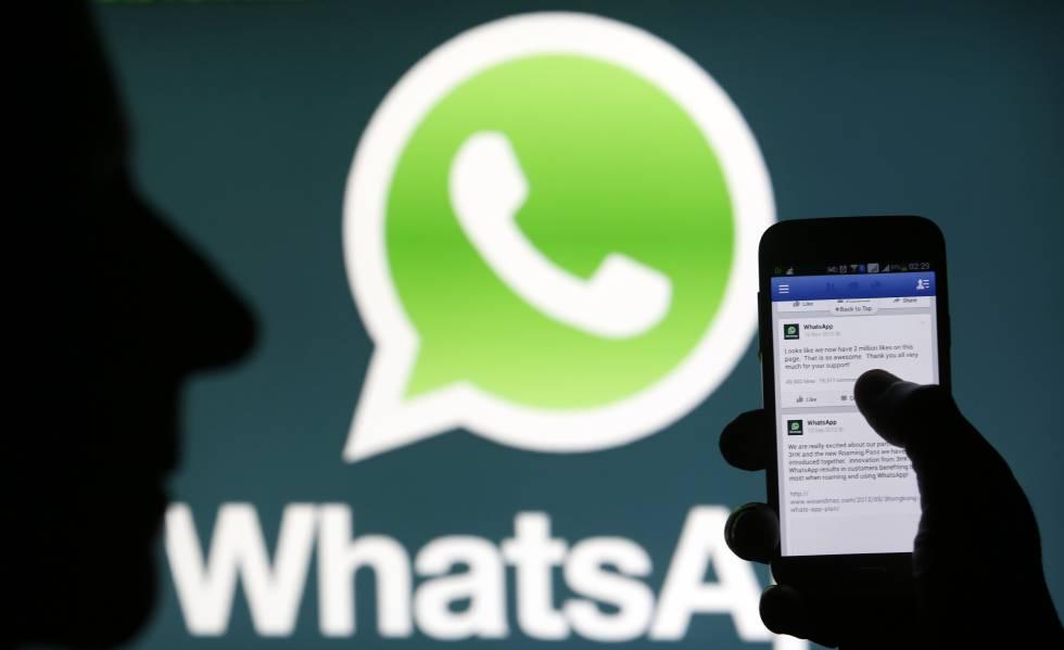 Logo de la aplicación WhatsApp.