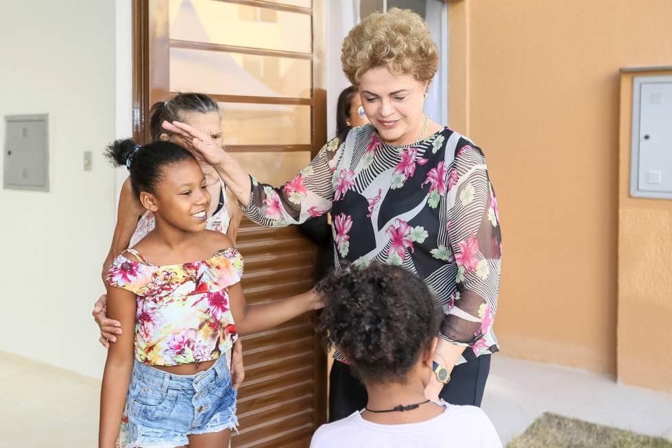 Dilma, no Rio.
