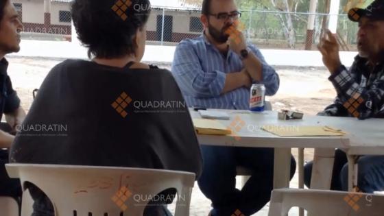 Imagem do vídeo de 'La Tuta' e Vallejo Figueroa.