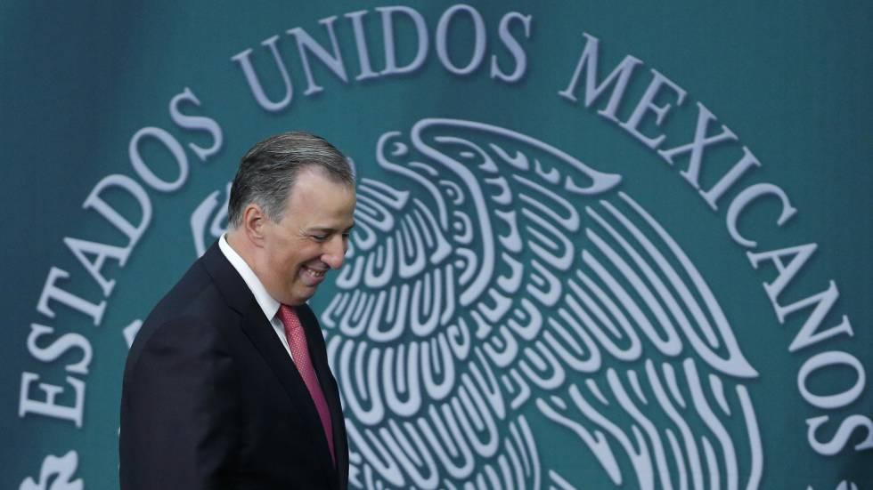 José Antonio Meade participa em um ato na residência de Los Pinos