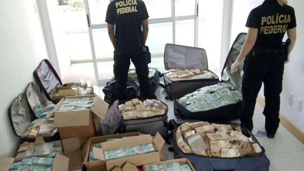 51 milhões de reais foram encontrados em um 'bunker' em Salvador na semana passada.