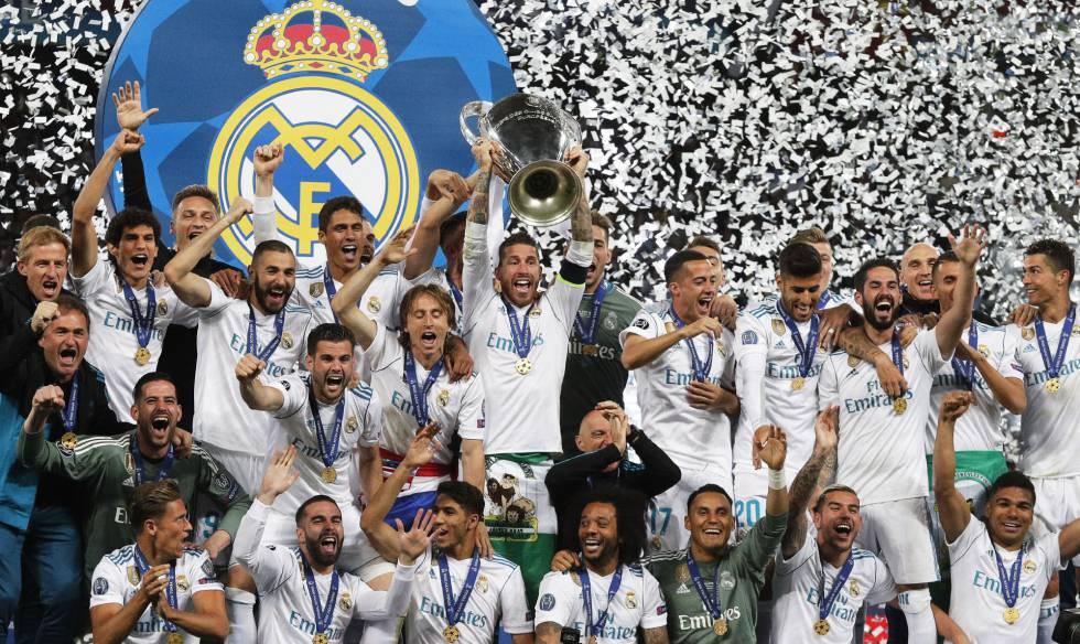 Real Madrid faturou o 13º título da Champions League.