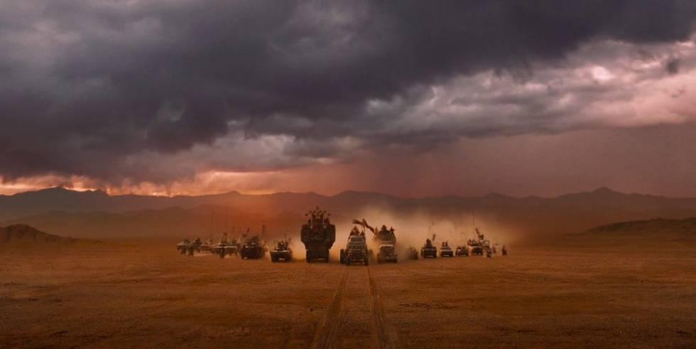 Imagem do filme 'Mad Max: Fúria na estrada'.