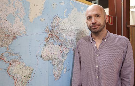 O cineasta Miguel Gonçalves Mendes, em São Paulo.