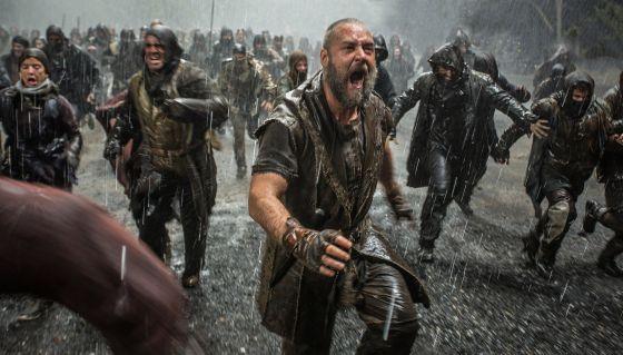 Russell Crowe, em uma imagem de 'Noé'.