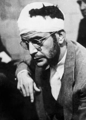Ramón Mercador após sua prisão no México em 1940.