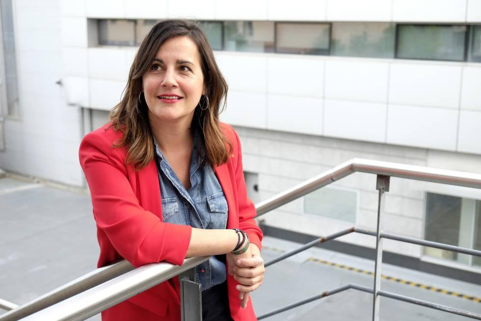 Pilar Álvarez, primeira jornalista em ocupar o posto de editora de gênero do EL PAÍS.