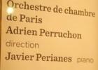 Após dias de luto, o pianista andaluz Javier Perianes protagoniza a reabertura dos teatros na capital francesa, na Champs Elysées