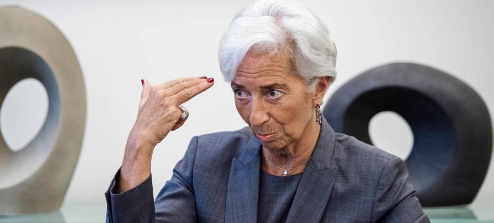 Christine Lagarde, diretora gerente do FMI.