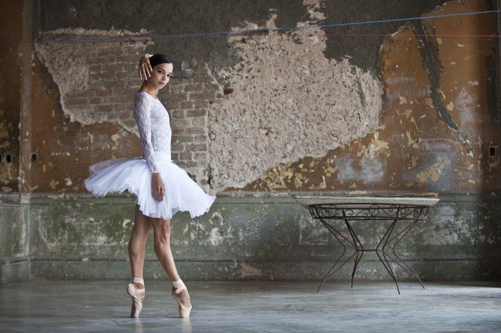 Viengsay Valdés, primeira bailarina do Balé Nacional de Cuba, em 2011.