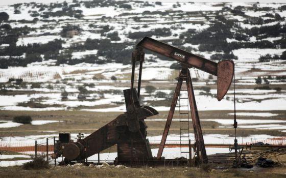 Exploração de petróleo em Sargentes de Lora, em Burgos.