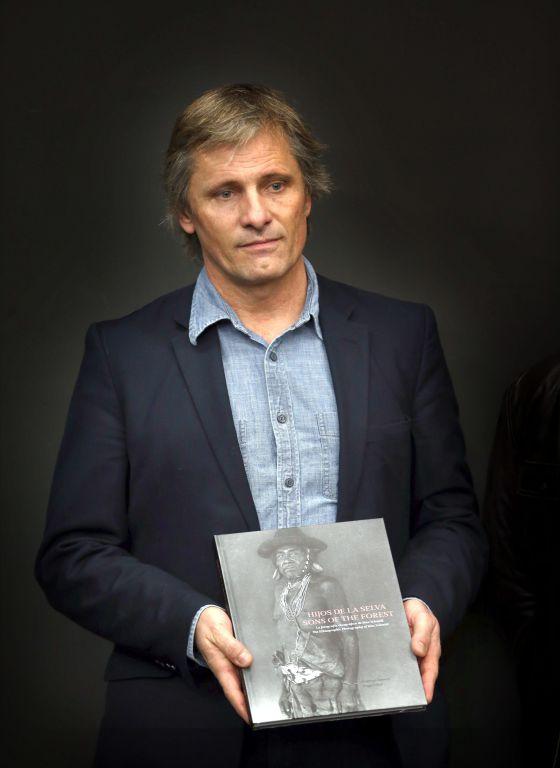 Viggo Mortensen, em Barcelona.