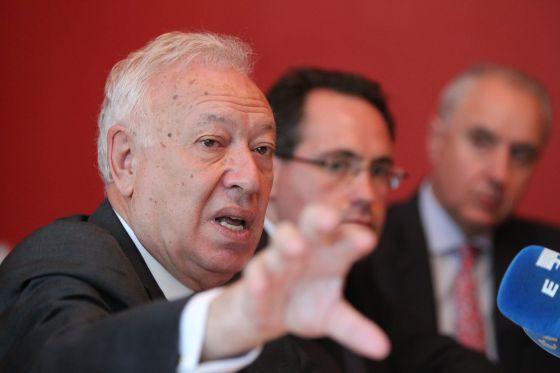 O ministro de Assuntos Exteriores espanhol, no México.