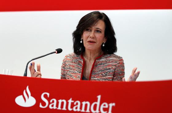 Ana Botín, presidenta do Banco Santander.