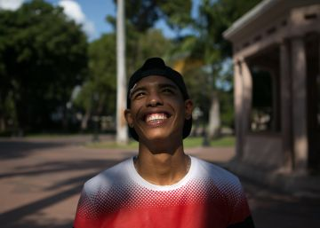 Esportista venezuelano conta ao EL PAÍS sua aventura e as consequências de uma atuação que se tornou viral
