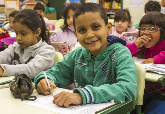 Alunos em escola pública de São Paulo./ A2 Fotografia/ Rafael Lasci