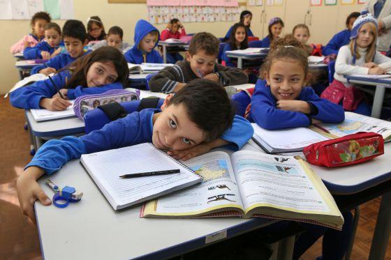 Escola municipal em Curitiba.