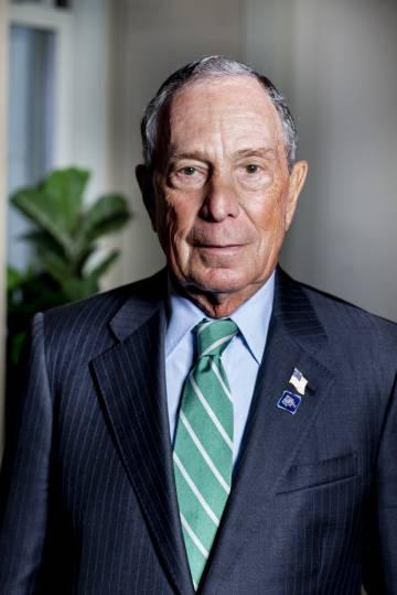 Michael Bloomberg, na última quarta-feira, após a entrevista em Nova York.