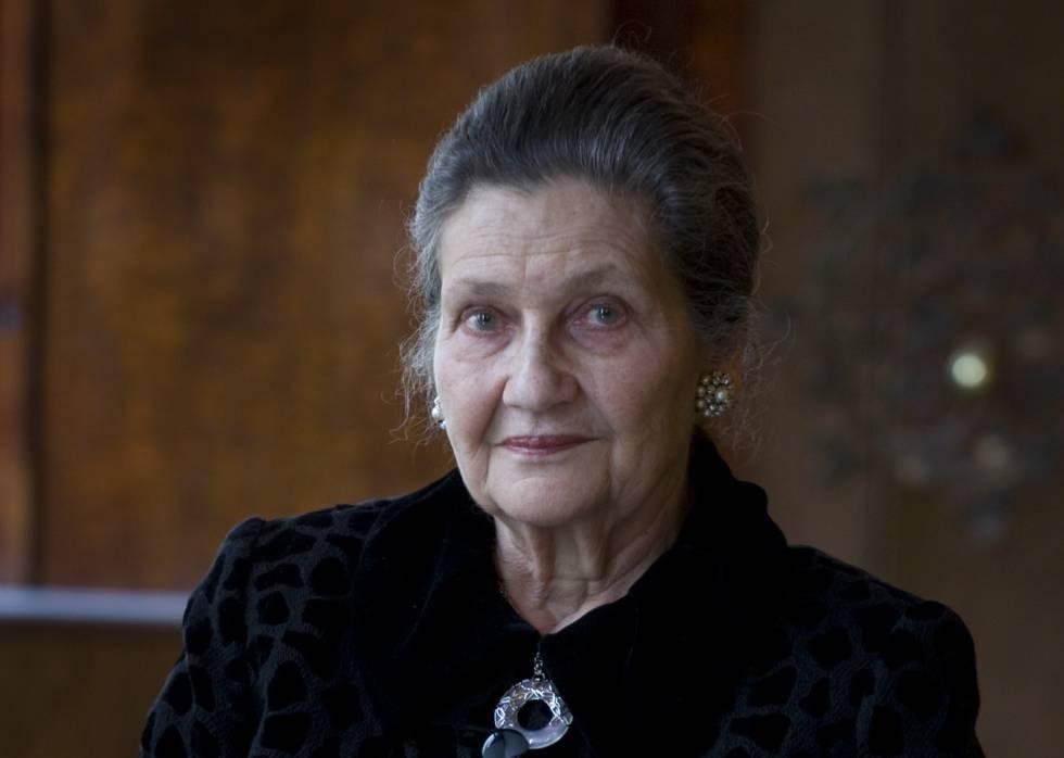Simone Veil em fotografia de 2009.