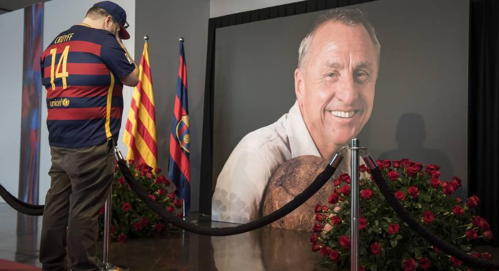 O memorial de Cruyff, em 26 de março de 2016.