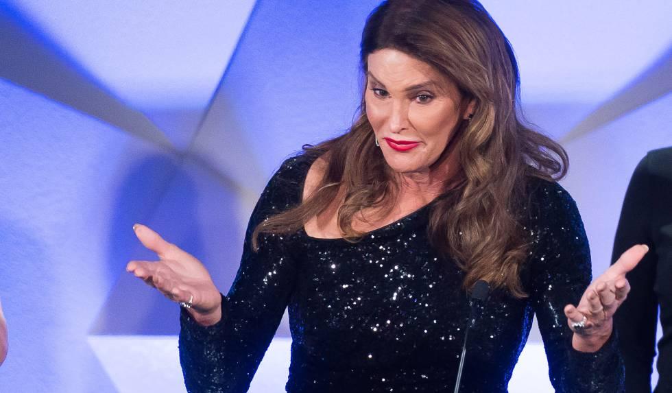 Caitlyn Jenner, em uma cerimônia de gala.