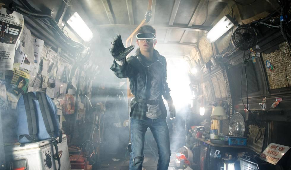 Tye Sheridan, em 'Jogador Nº 1', de Steven Spielberg.
