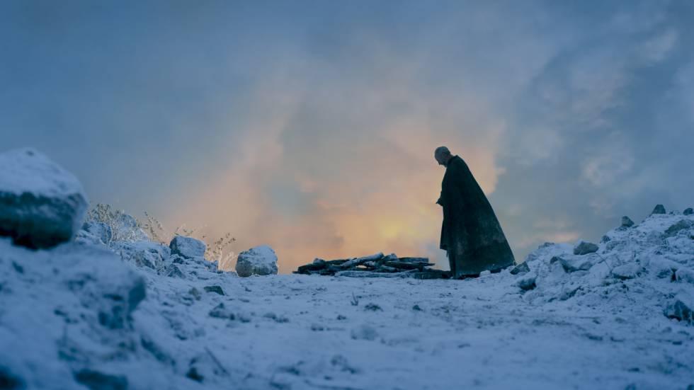 Cena da sexta temporada de 'Game of Thrones'.