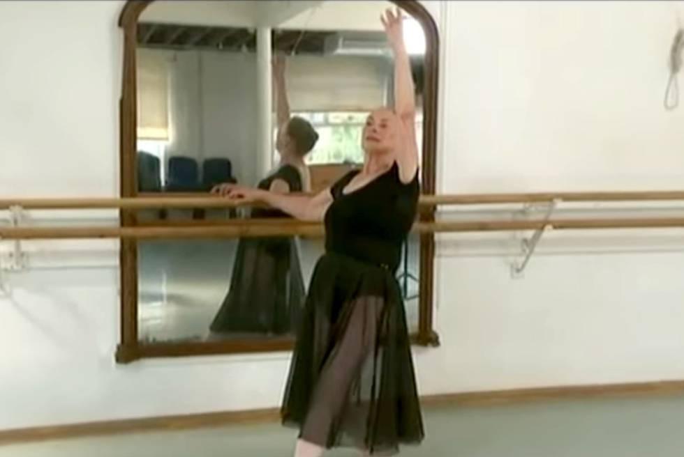 A bailarina Doreen Pechey, de 71 anos.