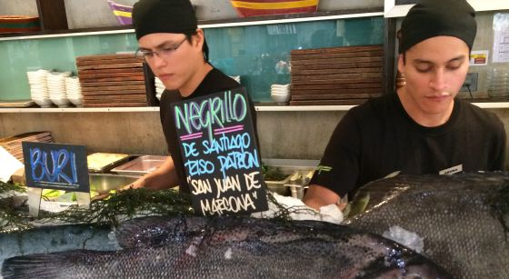 A cevicheria La Mar, do chef Gastón Acurio, em Miraflores.