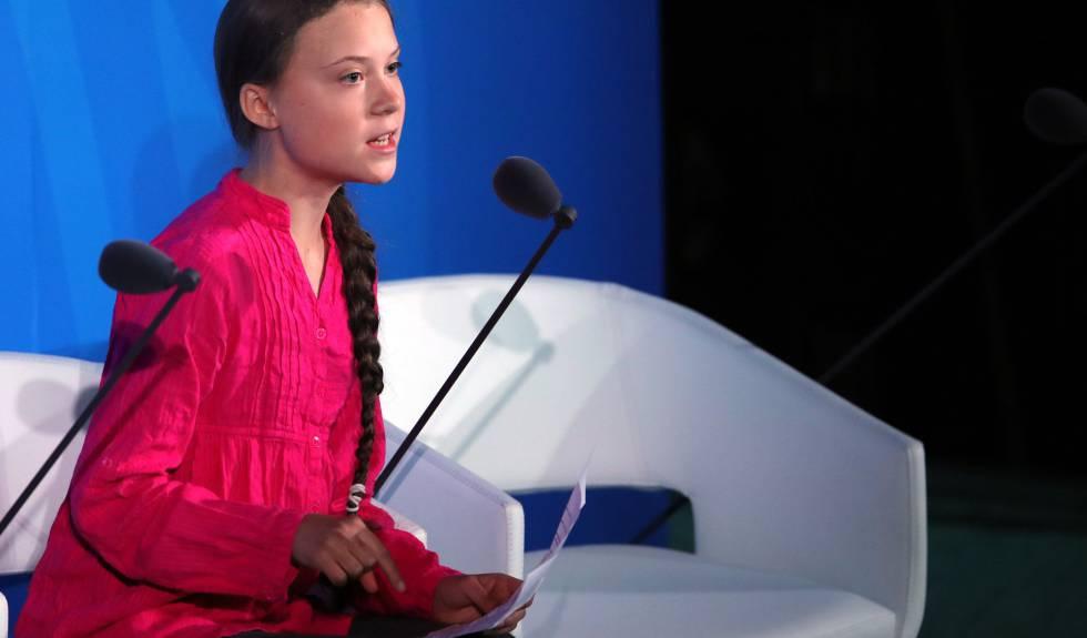 Greta Thunberg discursa na ONU.