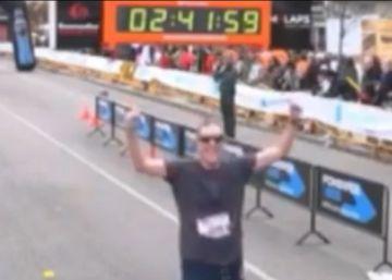 Espanhol de 48 anos faz quimioterapia e tem uma doença respiratória rara, mas conseguiu completar 300 corridas, entre meias-maratonas e maratonas