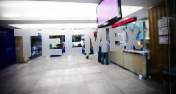 Um escritório da Telmex, de Carlos Slim.